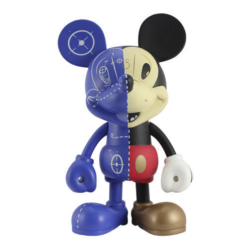"Disney Vinyl Art Figure Project Mickey Mouse by Sergio Mancini 6.3"" (16cm) Decor"
