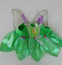 Build a Bear Green/Purple Tinkerbell Dress with Wings - $6.79