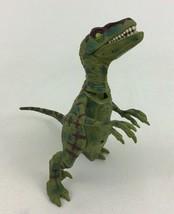 "Jurassic Park III Velociraptor Dino Stalking 7"" Figure Universal Studios... - $16.88"