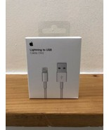 Genuine Apple iPhone Lightning USB Cable Charger 1m - Fast Charge - New ... - $6.79