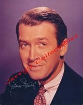 James Stewart signed color bust photo. Stunning ! - $68.95