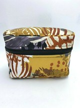 Vera Bradley Painted Feathers Small Zip Around Cosmetic Makeup Bag Case ... - $14.99