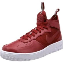 Nike Air Force 1 one Ultraforce red Mid shoes mens new 864014 600 sneake... - $53.99
