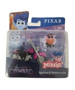 Disney Pixar Onward Minis Sprites & Motorcycle, GMM75-999A - $9.66