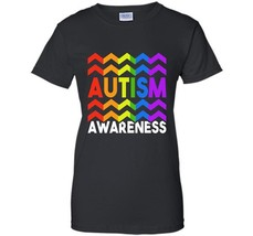 Autism  Autism Awareness  National Autism Day T-Shirt Awesome Autism T-Shirts Wo - $19.95+
