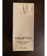 Vintage Halston 1980 Natural Spray Cologne 1 oz/30ml Brand New/Sealed Rare - $48.51