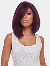 4x4 MULTI PARTING LACE WIG WITH SILK BASE, NATURAL MEDIUM STRAIGHT FLS08 FS1B/30