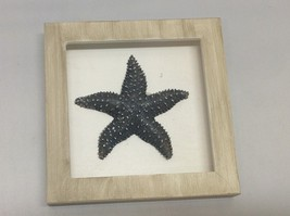 NEW Tan and Black Resin Starfish Shadow Boxes image 2
