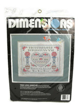 """Dimensions Counted Cross Stitch True Love Sampler Kit by Karen Avery 14""""x11"""" - $12.86"""