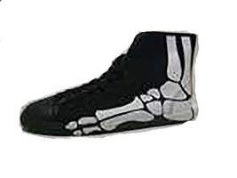 Be&d Maison Dumain Boogie Man Bones Men Social Wear Sneaker. Black Canvas - $49.49