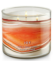 Bath & Body Works Joy Sunstone Three Wick 14.5 Ounces Scented Candle - $23.95
