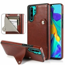 Leather wallet FLIP Silicon BACK cover Case For Huawei honor model - $49.05