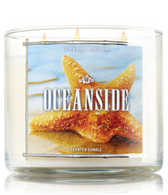 Bath & Body Works Oceanside Three Wick 14.5 Ounces Scented Candle - $20.53
