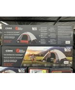 Core Equipment 40003 6 Person Dome Tent With Block Out Technology - $149.00
