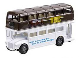NEW IN ORIGINAL PACKAGING THE BEATLES PLEASE,PLEASE ME  DIE- CAST BUS SET 2 - £24.51 GBP