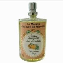 La Maison Du Savon De Marseille Eau De Toilette Miss Tinguette Mandarine... - $39.99