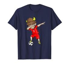 Sport Shirts - Dabbing Soccer Boy Iceland Jersey T-Shirt - Number 1 Tees Men - $19.95+