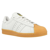 Adidas Superstar 80s DLX, White Metallic Gold Gum S75830 Mens Size 9 - $79.95