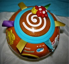 VTECH MOVE AND CRAWL BALL TODDLERS KIDS BABIES LEARNING ELECTRONIC TOY - $14.50