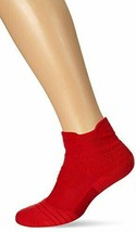 Nike Youth Dri-Fit Elite Versatility Mid High Basketball Socks Red Small... - $15.99