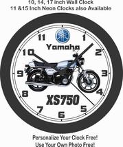 1977 YAMAHA XS750 MOTORCYCLE WALL CLOCK-FREE USA SHIP - $28.70+