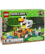 LEGO Minecraft The Chicken Coop 21140 Building Kit 198 Piece - $18.28
