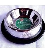 Non Skid Metal Cat Dog Bowl Slip Pet Cat Dish Holds 6.08 fl oz. - $5.14