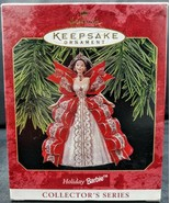 1997 Vintage HOLIDAY BARBIE DOLL CHRISTMAS ORNAMENT Hallmark Collectible - $9.65