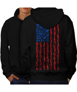 America Flag Grenade USA Sweatshirt Hoody  Men Hoodie Back - $20.99+
