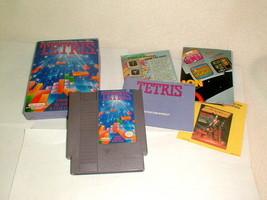 Nintendo NES tetris game VG clean w box inserts booklet styrofoam 1989 - $46.00