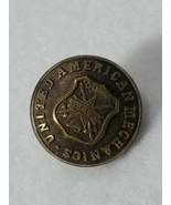 united American mechanics waterbury Uniform Button V.F.E.P (N19) - $16.83