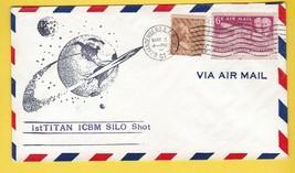 1st TITAN ICBM SILO SHOT VANDENBERG AFB CALIFORNIA  MAY 3 1961 - $2.68