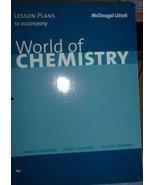 World of Chem Less Plan 1e - $7.95