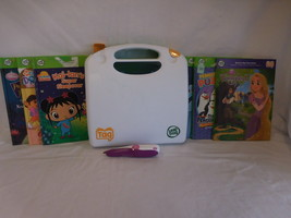 Leapfrog Tag Reading System Touch Technology Talking Words Flash Card 6 Books + - $47.01