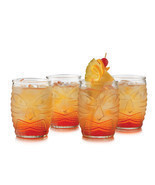 Libbey Tiki God DOF (Set of 4) - £14.73 GBP