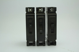 Lot Of 3 Westinghouse EB1020 Circuit Breaker 20A 120V used - $29.69