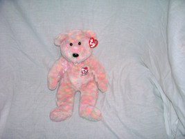 Ty Celebrate Beanie Buddy New With Tag! 15 Year Anniversary Bear 2001 - $14.96