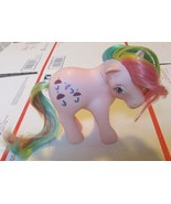 Vintage G1 Gen 1 MLP My Little Pony PARASOL Rainbow Pony - $19.99