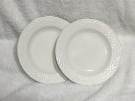 """Set of 2 International Tableworks Lattice Embossed Rim 7 7/8""""  Salad Pla... - $7.00"""