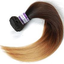 Cranberry Hair Ombre Brazilian Virgin Hair Straight Hair Weave 24inch Bundle Thr image 1