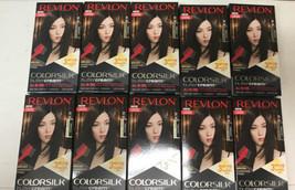 10 Revlon Colorsilk Buttercream Permanent Hair Color Brown Black 30/20N - $120.00