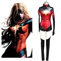 Ms. Marvel Carol Danvers Cosplay Costume X-men Avengers Captain Marvel Suit - $78.00