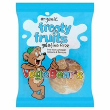 Organic VegeBears Frooty Fruits 100g, 6 Pack - $24.20