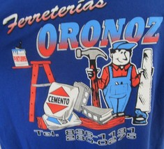 FERRETERIAS ORONOZ T Shirt San Sebastian Puerto Rico hardware store XL c... - $18.61