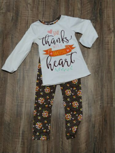 Girls Fall Outfit 4/5T