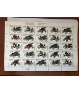 USA United States Antique Autos sheet mnh 1995     stamps - $11.95