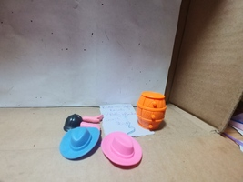 Polly Pocket Ride-n-Style Ranch--Accessory Package Replacement Pieces - $9.00