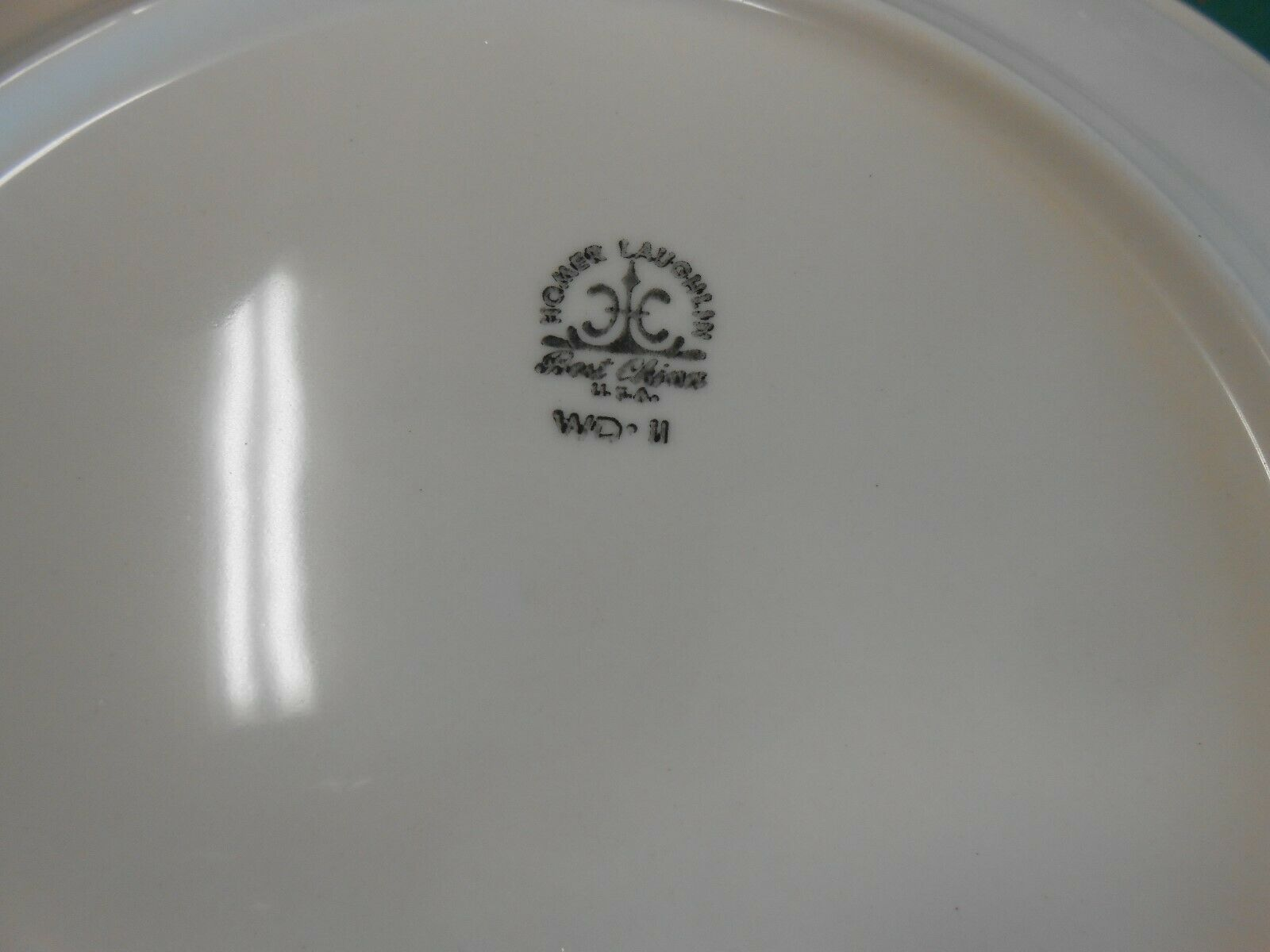 "Beautiful HOMER LAUGHLIN ""Best China""  Set of 4 DINNER Plates image 3"