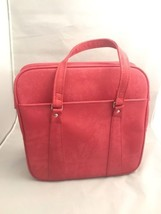 Vintage Overnight Bag Royal Traveller Medalist Pink Rose Handy Tote Lock... - $911,13 MXN