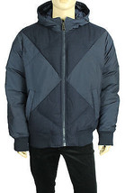 TOMMY HILFIGER BOND COLORBLOCKED MULTI MEDIA HOODED STREET DOWN COAT JAC... - $50.99